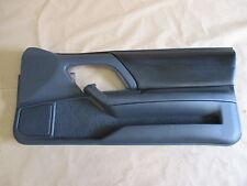 00-02 Camaro Z28 RS SS Door Panel Ebony Leather PW RH 0819-24