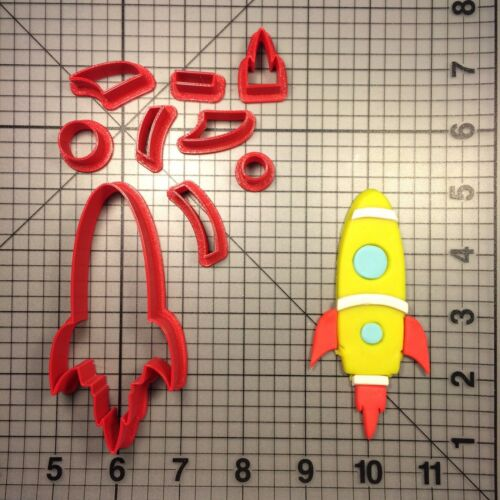 Rocket 103 Cookie Cutter Set