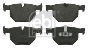 Bremsbelagsatz Scheibenbremse für Bremsanlage Hinterachse FEBI BILSTEIN 16587
