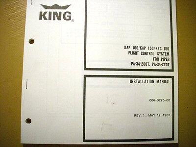 KAP 100 KAP 150 KFC 150 Into PA 34 200T PA 34 220T Install Adjust Manual EBay