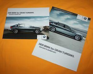 BMW-5er-GT-Gran-Turismo-2009-Prospekt-Brochure-Depliant-Prospetto-Catalog-Folder