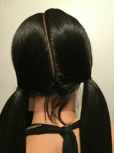 NWT-Vanessa-Human-Hair-Blend-Designer-Lace-Front-3-Way-Part-Wig-Long-Straight