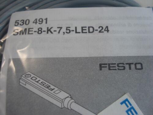 NEW FESTO SENSOR SME-8-K-7 5-LED-24