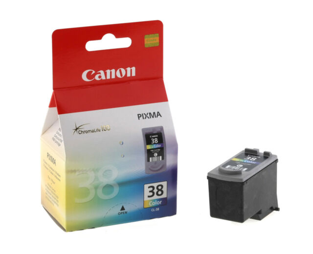 Canon CL38 Farbe Tinte Original OEM Tintenstrahlpatronen für MX300, MX310