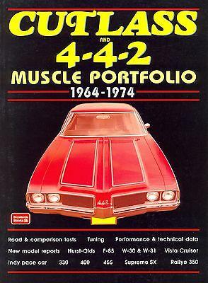 1964 65 66 68 69 70 71 72 73 74   OLDS CUTLASS//4-4-2   MUSCLE PORTFOLIO