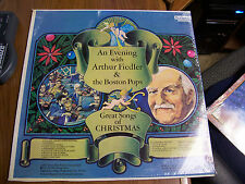 Arthur Fiedler & The Boston Pops Great Songs Of Christmas Fleetwood Rec. Sealed