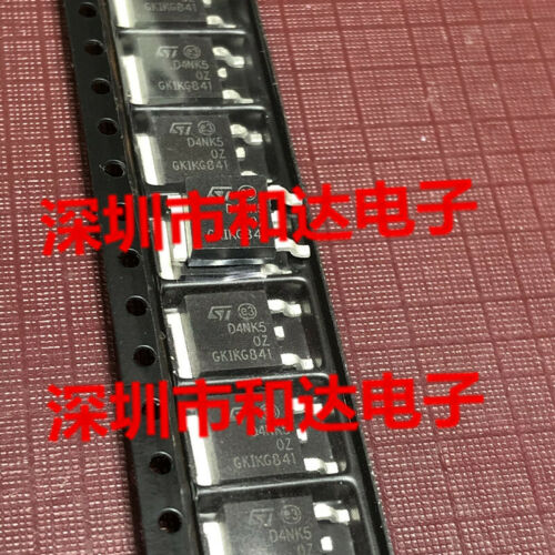 10 x D4NK50Z STD4NK50Z N-CHANNEL Power MOSFET TO-252 500V 3A