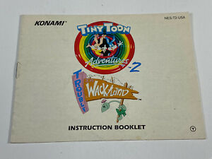 Tiny Toon Adventures 2 NES Nintendo Original Instruction Manual Booklet Only