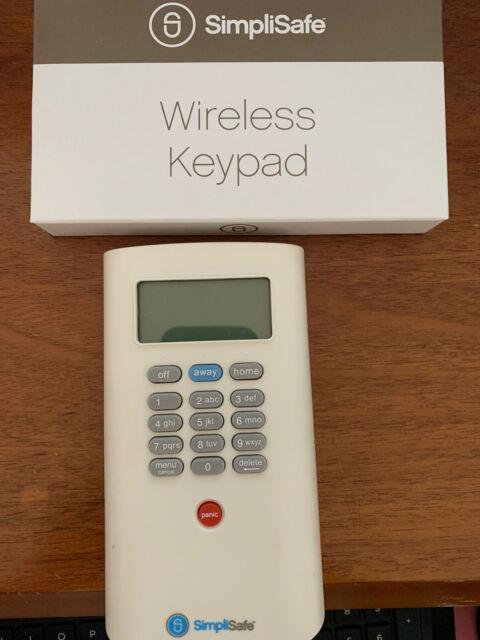 Simplisafe Wireless Keypad Kp1000 Security Alarm System