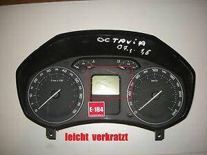 1Z0920810B-Skoda-Octavia-1-6-Kombiinstrument-2007Bj
