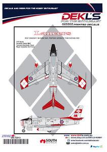 Decals-Canadair-Sabre-RCAF-Lancers-Aerobatic-Team-1-72-Scale