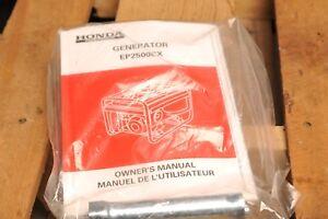 CR 1978 Honda ED1000 Portable Generator Owner/'s Owners Manual