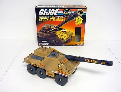 GI JOE SLUGGER Vintage Action Figure Vehicle Tank COMPLETE w/BOX 1997