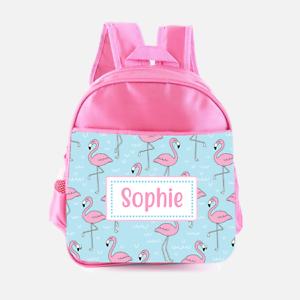 Personalised Cute Donkey Childrens School Bag Girls Kids Backpack