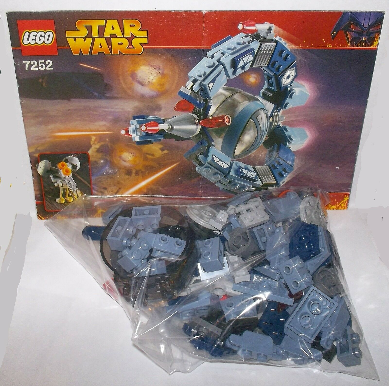 Lego Lego Lego star wars droid tri-fighter 7252 92c044