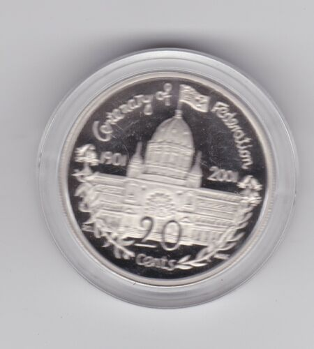 2001 Victoria VIC PROOF 20 Cent Centenary of Federation Series Australia