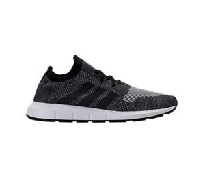 8a2398124 New Men s adidas Swift Run Primeknit CQ2889 PK Black Gray Running ...