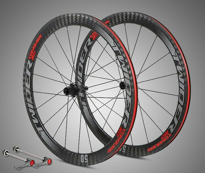 Wheel Pair ( 50 MM ) Racing Carbon 3k 70023c [ Shimano ]