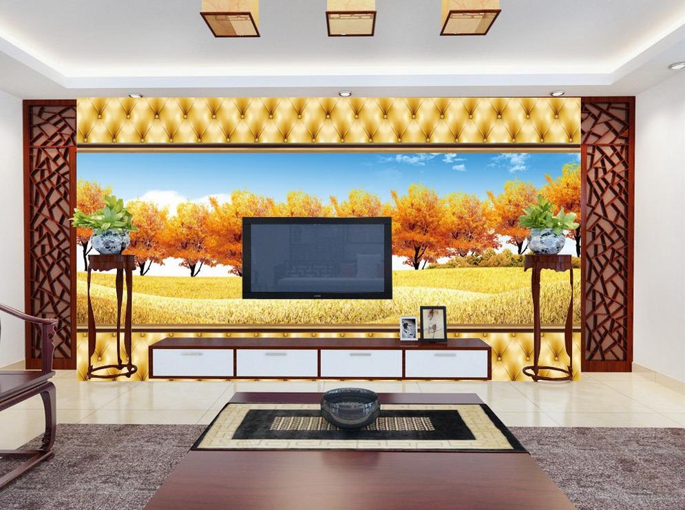 3D Herbstbäume 7533 7533 7533 Tapete Wandgemälde Tapete Tapeten Bild Familie DE Summer | Authentische Garantie  | Export  |  32e318