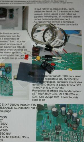 KIT  ALIM  TNY276GN CARTE INDUCTION BRANDT SAUTER DE DIETRICH AS0021115