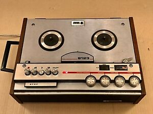 Vintage-Pye-9123-Reel-To-Reel-Tape-Recorder-Reel-Tape-Player-Philips-9123-A
