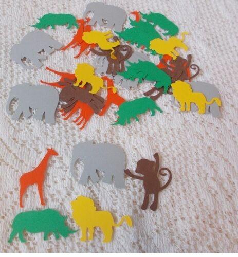 Over Sized Jungle Animal Table Confetti 100 pieces
