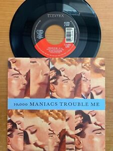 10-039-000-maniacs-Trouble-Me-7-034-1-US-Pressing-1989-TOP-condition