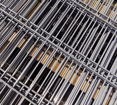 30m Doppio Bastone Stuoie Recinzione // Antracite // 183cm Ad Alta // Industria Recinzione Steccato-