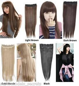 Straight-Kanekalon-Hair-Extensions-in-4-colours