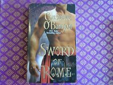 Sword of Rome by Constance O'Banyon (2007, Paperback) historical romance