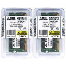4GB KIT 2 x 2GB SODIMM DDR 2 NON-ECC PC2-5300 667MHz 667 MHz DDR-2 4G Ram Memory