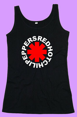 CAMISETA TIRANTES MUJER RED HOT CHILI PEPPERS
