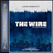 THE WIRE - COMPLETE SEASONS 1 2 3 4 & 5 **BRAND NEW BLU-RAY REGION FREE*