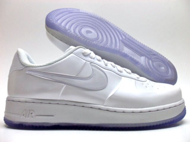 finest selection d854a 8a09a Nike Af1 Foamposite Pro Cup Mens Size 9.5 Shoes White Aj3664 100 Display