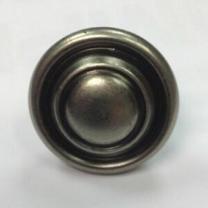 25pk-Pewter-Knob-Handle-Kitchen-Bedroom-Cupboard-Button-Knob-32mm-Antique-Effect