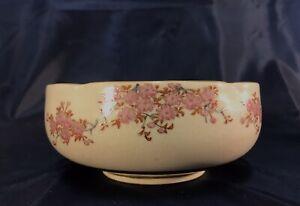 Antique Japanese SATSUMA BOWL handpainted & signed ( Taisho Period 1912-1920)