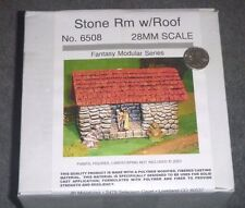Stone Room w/Roof - 28mm - Fantasy Series - #6508 JR Miniatures  NEW-SEALED  OOP