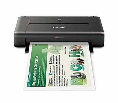 CANON PIXMA iP110 Wireless Mobile Printer With Airprint(TM) And Cloud Compatibl
