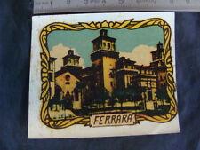 DECALS FERRARA TRSFERIBILE VESPA FARO BASSO LAMBRETTA 125 LD OLD SCOOTER ITALY