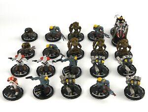 Mage-Knight-STEAMPUNK-MINIATURE-LOT-x20-D-amp-D-Minis-Dungeons-Black-Powder-Rebels-5