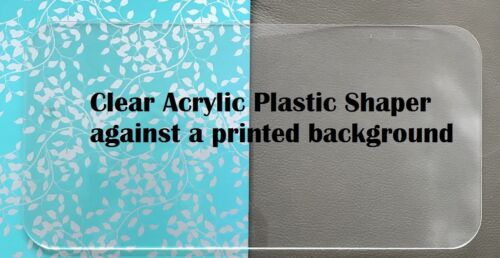 Clear Acrylic Base Shaper Liner That Fit The Classic Jumbo Double Flap Bag