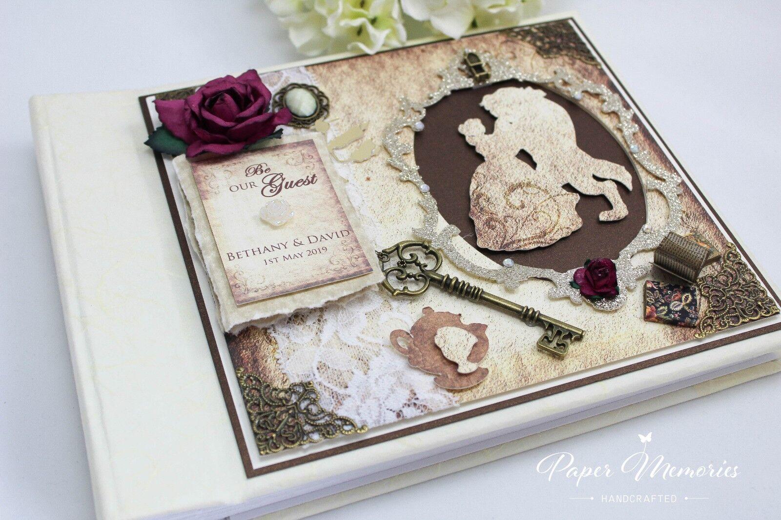 Medium Boxed & Personalised Beauty & The Beast inspirot Wedding Photo Album