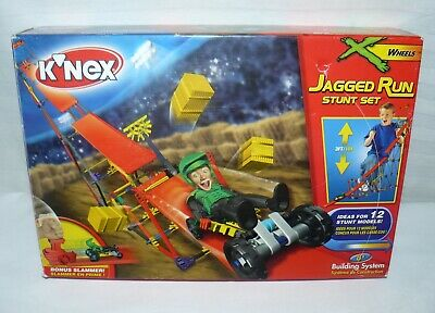 Instructions KNEX INSTRUCTION MANUAL ONLY #12048 Jagged Run Stunt Set Book