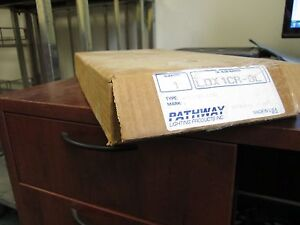 Pathway Single Sided Exit Sign LDX1CR-DL 120/277V LED Red New Surplus