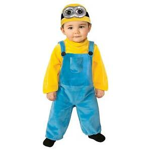 Stock photo  sc 1 st  eBay & Minions Movie Toddler Baby Bob Minion Halloween Costume 2t | eBay