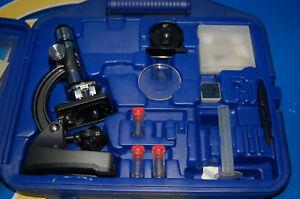 Spielzeug kinder koffer kit mikroskop kinder edu science ebay