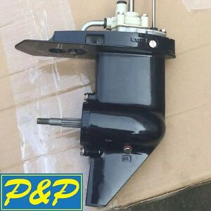 Lower-Unit-Gearcase-fit-Tohatsu-Nissan-Mercury-Outboard-4HP-5HP-6HP-Long-Shaft
