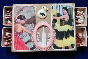 Scatola fiammiferi, match box, LA GIRALDA SEVILLA, vintage e rari