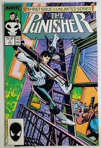 Punisher 1  ~  Beautiful Copy  ~ White Pages  ~  High 9s Condition
