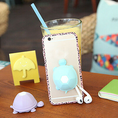 Cute Phone Cable Cord Organizer Wrap Wire Winder Earphone Headphone Holder Tops